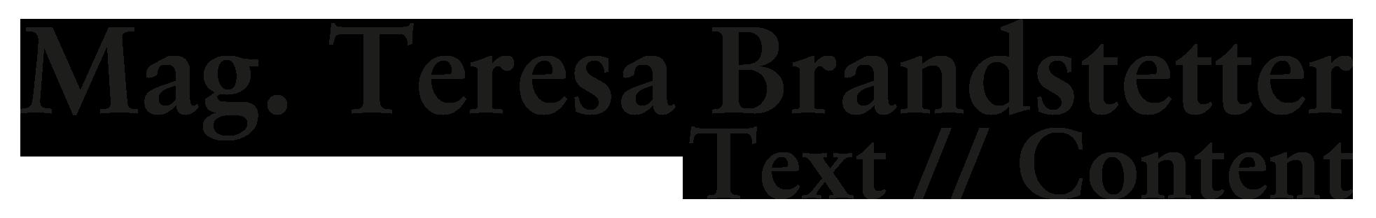 Mag. Teresa Brandstetter